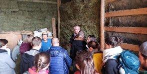 Visite de l'exploitation caprine de Marc Agneliet