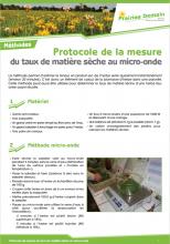 Mesure du taux de matière sèche au micro-onde PNG