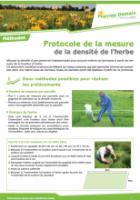 Mesure de la densité de l'herbe PNG